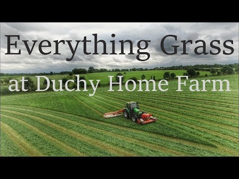 Grass Silage: Everything Grass At Duchy Home Farm 2016, 1080p