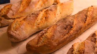 Französisches Sauerteig Baguette