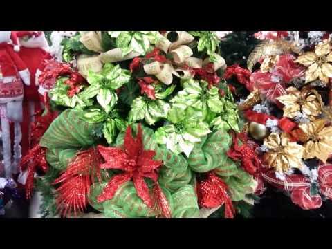Decoracion arboles de navidad 2017 rojo y verde parte 22 - Decoracion arbol navidad ...