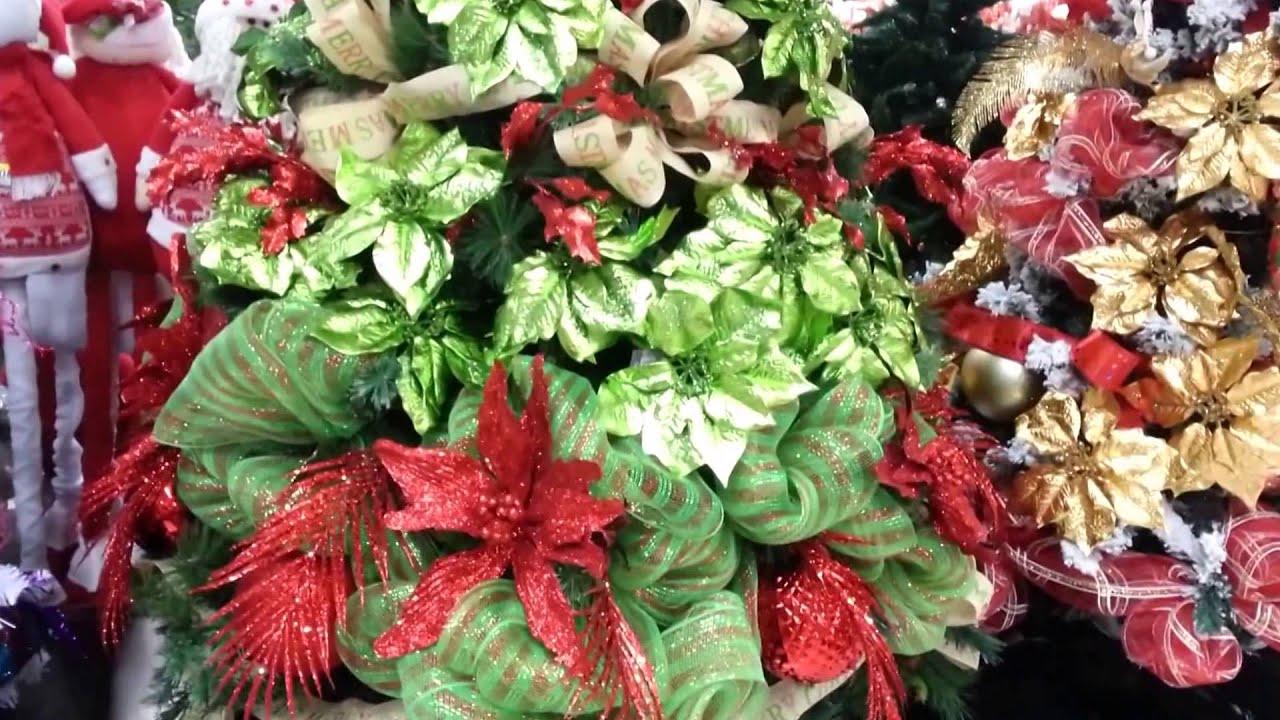 Decoracion arboles de navidad 2017 rojo y verde parte 22 - Decoraciones del arbol de navidad ...