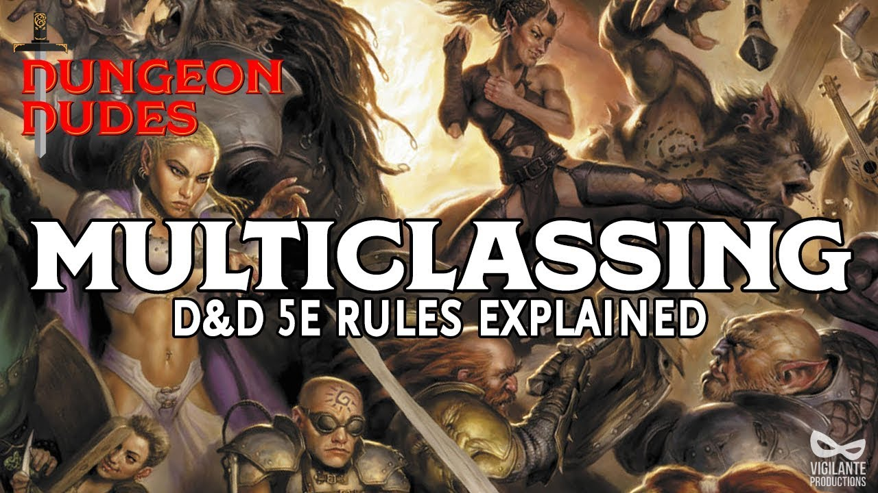 Multiclassing in Dungeons and Dragons 5e