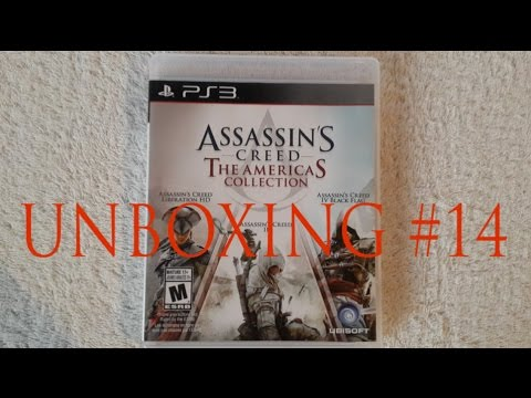 Assassin S Creed The Americas Collection Ps3 Unboxing 14 En