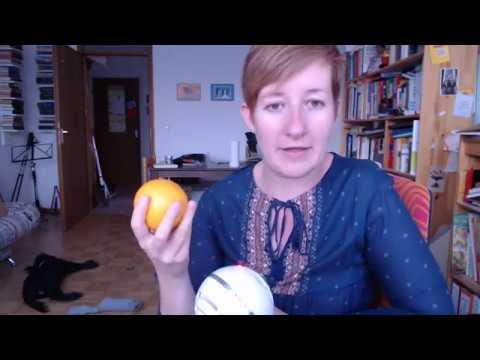 Wie kann man mit einer Orange Deutsch lernen? :) Marijas Tipp A2 B1 B2 C1