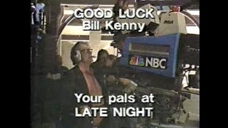 The Staff/Crew Good Luck Bumpers Collection on Letterman, 1982-93