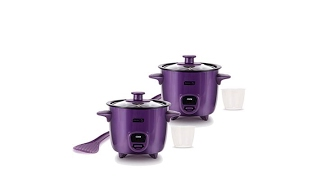DASH 2pack Mini Rice Cookers w…