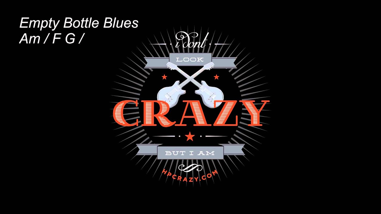 HPCrazy's Backing Track - Slow Blues ( only Drum & Bass )