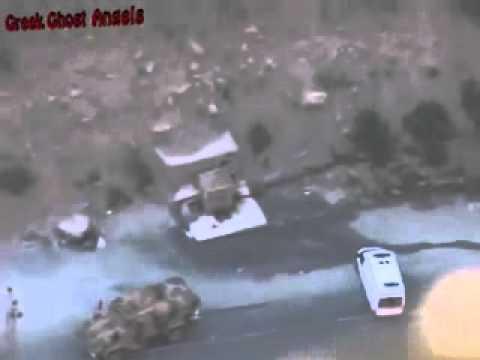 Курды расстреливают турецких солдат!