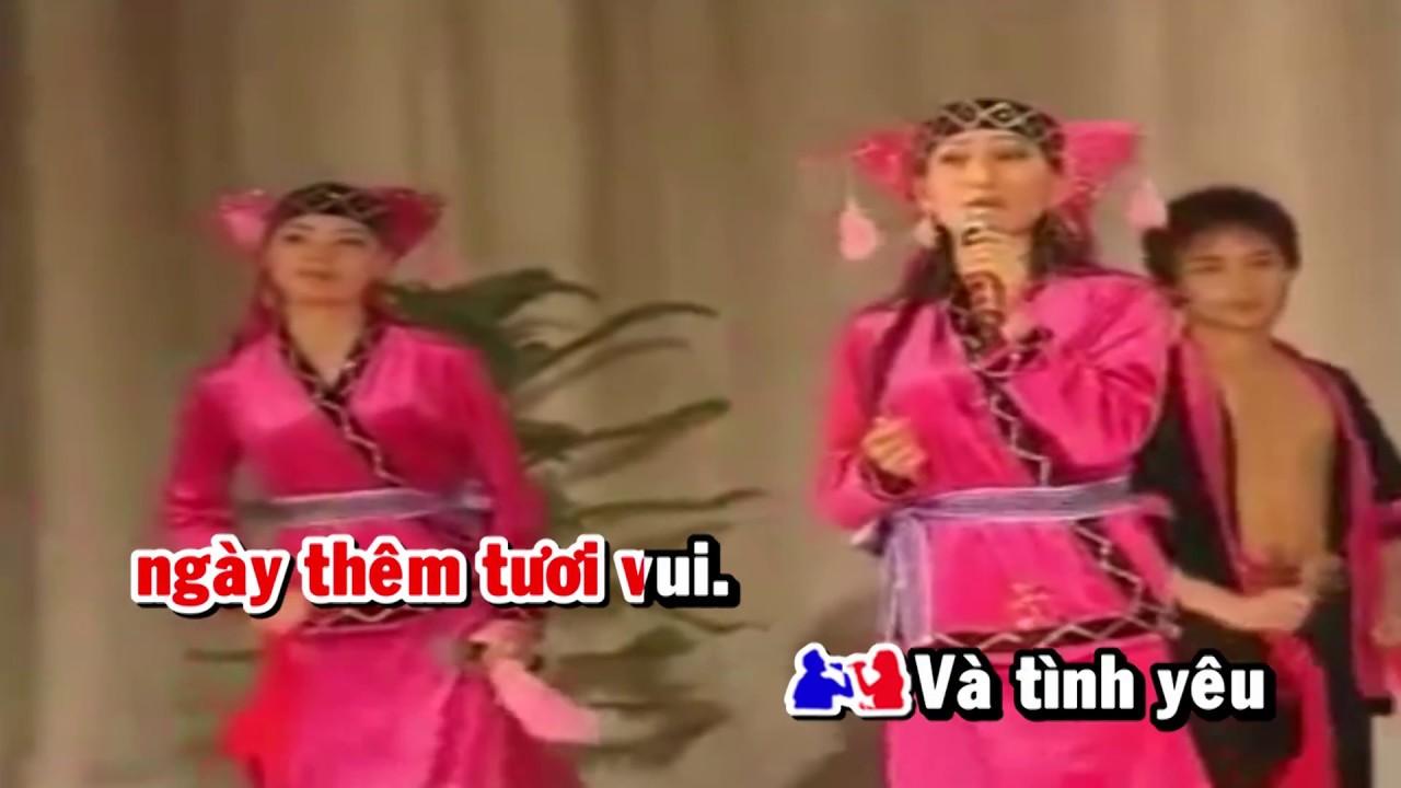 [HD] Karaoke Bức tranh xuân – 2017 Dân tộc Dao (Karaoke by kgmnc)