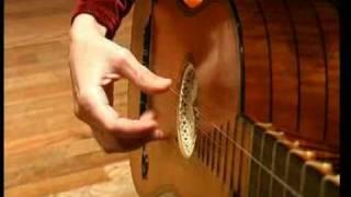 Regina Albanez plays baroque guitar