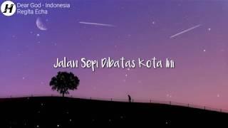 Download DEAR GOD LIRIK (VERSI INDONESIA) - AVENGED SEVENFOLD  COVER by REGITA ECHA