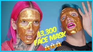 3 300 gold face mask review demo feat laganja estranja