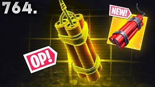*NEW* MOST OP ITEM!! - Fortnite Funny WTF Fails and Daily Best Moments Ep.764
