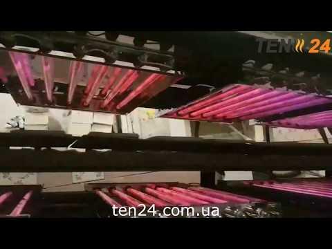 Туннельная печь для лаваша с кварцевыми инфракрасными нагревателями от компании ТЭН 24