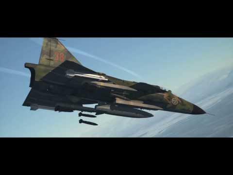 DCS: AJS-37 Announcement Trailer