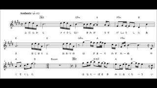 下記ページでフルサイズ楽譜データを配信中です。 http://www.dojinonga...