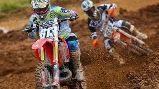 250 A Raw Highlights - DEP Pipes 2 Stroke Shootout / Sleepy Hollow (MXPTV)