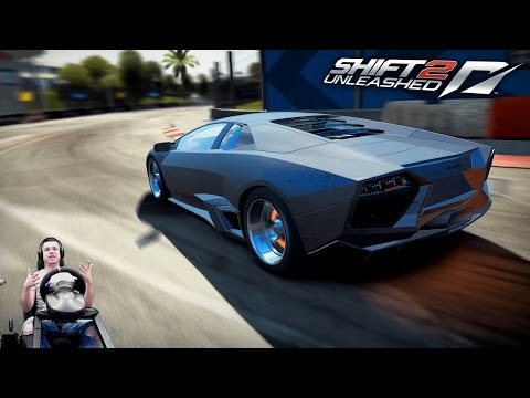 Тур скорости Майами на Lamborghini Reventón - Need For Speed Shift 2 Unleashed