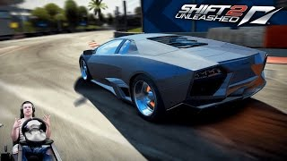 Тур скорости Майами на Lamborghini Reventón - Need For Speed Shift 2 Unleashed
