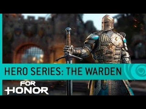 For Honor  The Warden Knight Gameplay Hero Series 3  PS4