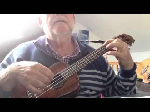 Dust In The Wind Solo Ukulele Tutorial By Colin Tribe Youtube