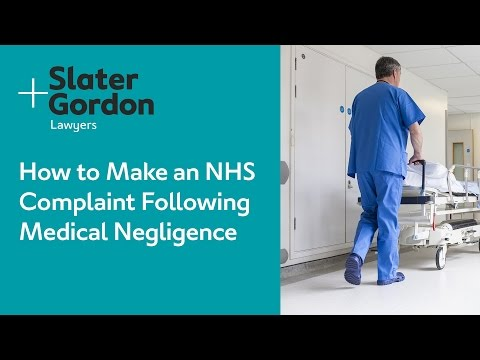 How to Make an NHS Complaint Following Medical Negligence