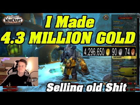 Change Your Farms! I Made 4.3 MILLION Gold Selling Old Materials