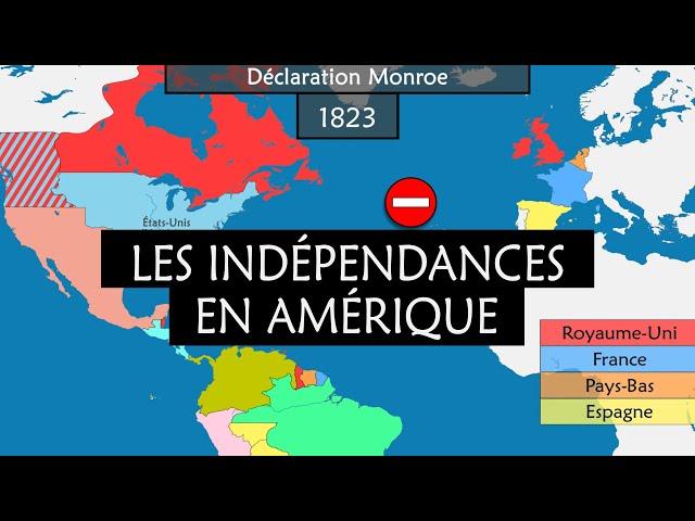 La décolonisation en Amérique