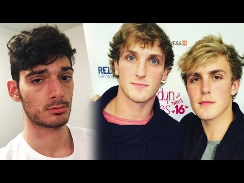 Thumbnail: Jake & Logan Paul Get EXPOSED, Murderer Bullies Twitch Streamer Ice Poseidon? Casey Neistat, H3H3