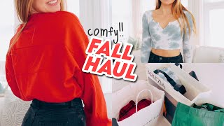 fall ESSENTIALS clothing haul !! (try-on)
