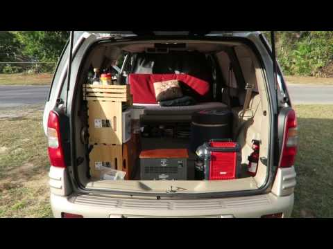 Tour of my Pontiac Montana Minivan Camper: SOLD