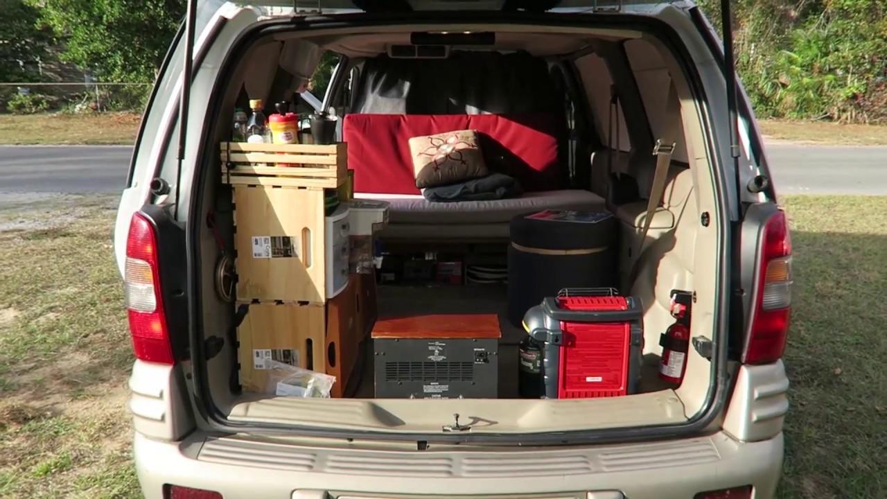 Tour Of My Pontiac Montana Minivan Camper  Sold
