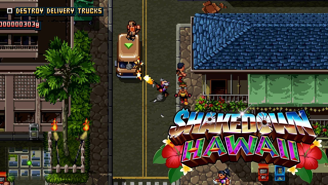 Shakedown: Hawaii (2019) | Game Overview Trailer [Nintendo Switch, PS4, PS  Vita, 3DS, PC]