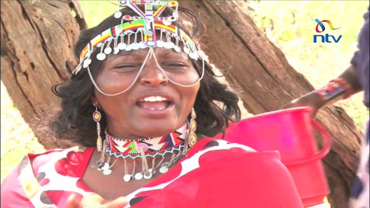 Agnes Leina rescuing girls from early marriage in Kajiado