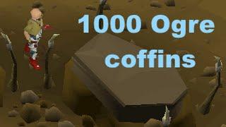 Opening 1000 Ogre coffins