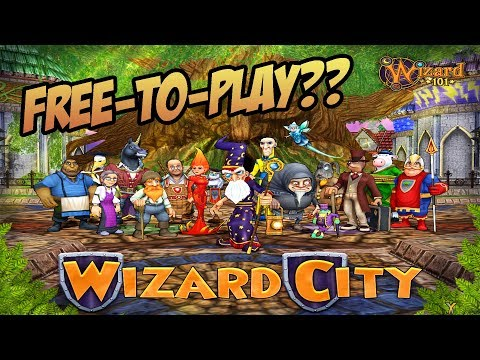 Wizard101: Wizard City Free-to-Play in 2018?? - YouTube