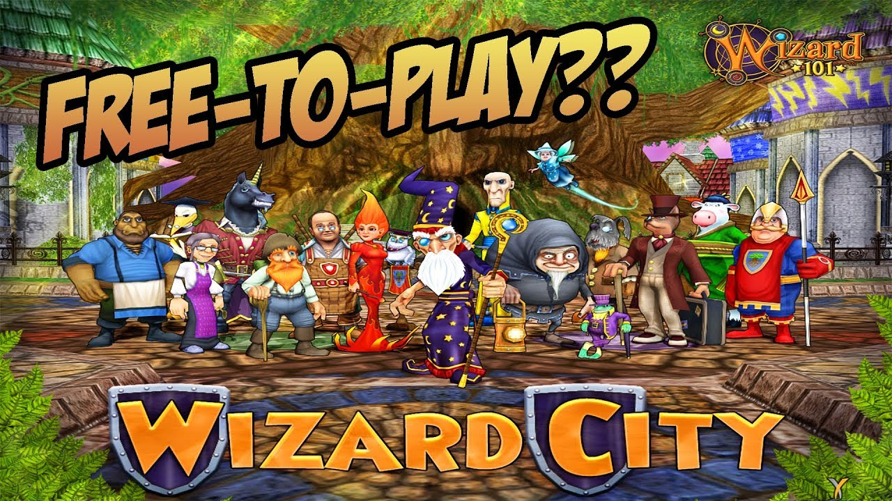 Wizard101: Wizard City Free-to-Play in 2018??