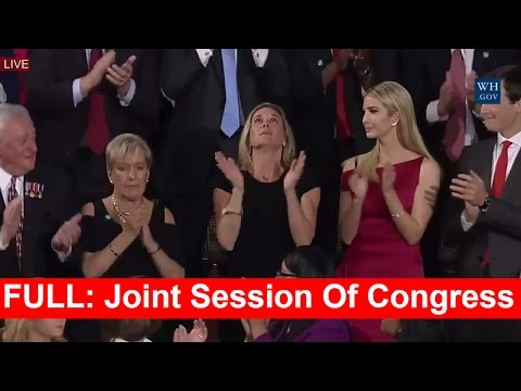 FULL SPEECH: President Donald Trump Addresses the Joint Session of Congress 2/28/2017 HD