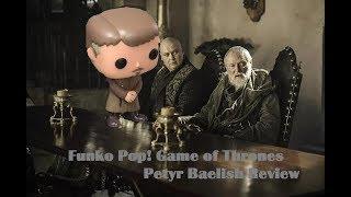 Game of Thrones Week Day 3 Funko Pop Petyr Baelish #29 Vinyl Figure Review Vaulted