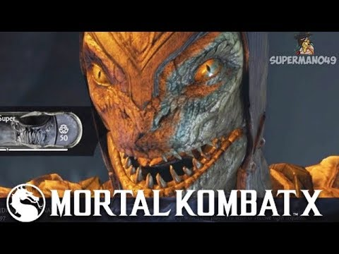 WHAT JUST HAPPENED? CRAZIEST END TO A MATCH WITH REPTILE - Mortal Kombat X: