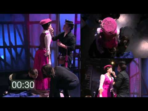 "Classic Clips: ""Mary Poppins"" Costume Quick Change (2011)"