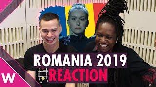 Romania Eurovision 2019 REACTION video Ester Peony &quotOn A Sunday&quot (Revamp)