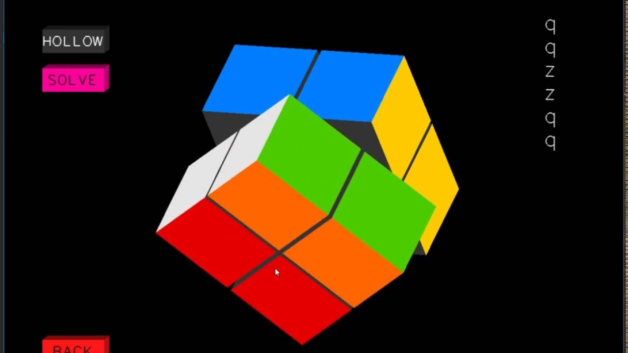 OpenGL : Rubiks Cube Solver - CG Project