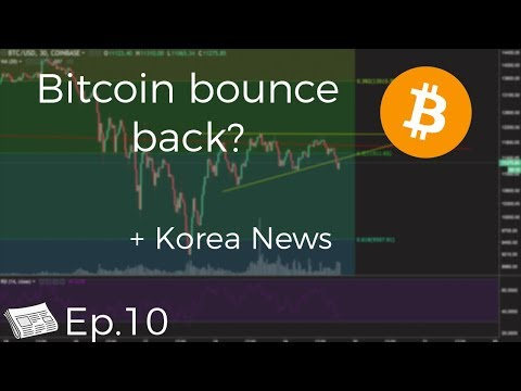 Is Bitcoin Bouncing Back? + Korean Insider Trading & Bitconnect Fallout (Ep.10)