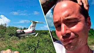 J Balvin sufre accidente aéreo | Exclusivo