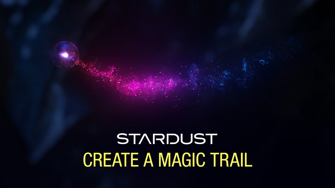 Create a Magical Particle Trail with Stardust - Toolfarm