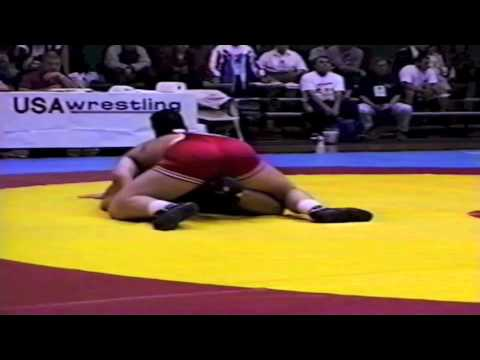 1995 World Cup: 130 kg Andrej Shumilin (RUS) vs. Andrew Borodow (CAN)