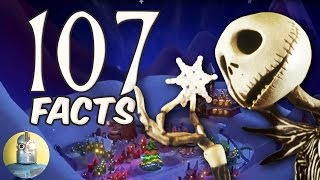 107 Nightmare Before Christmas Facts YOU Should Know! (Cinematica)
