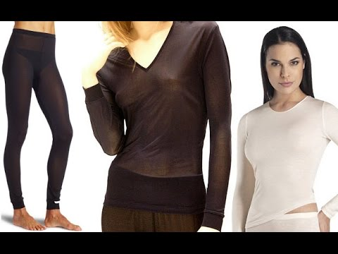 Silk Long Underwear - YouTube