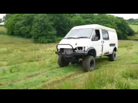 Modified Ford Countytransit By Belfield 4x4 Engineering Youtube