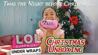 LOL Underwraps Christmas Unboxing